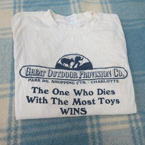 VINTAGE GREAT OUTDOOR PROVISION CO.T-SHIRT LARGE
